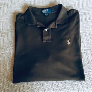 Polo by Ralph Lauren brown polo shirt, size L